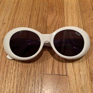 QUAY White Sunglasses